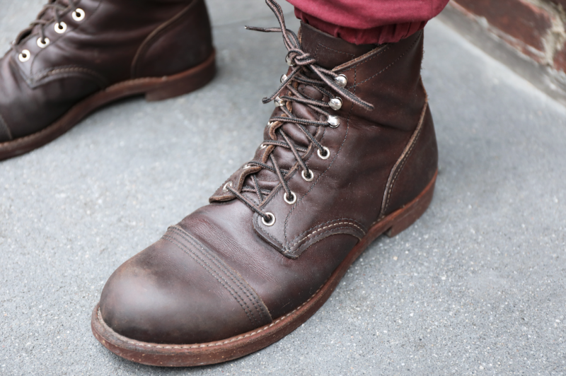 Red Wing Iron Ranger finish