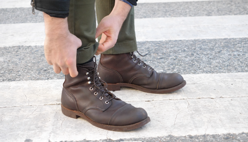 Red Wing iron ranger adjustment