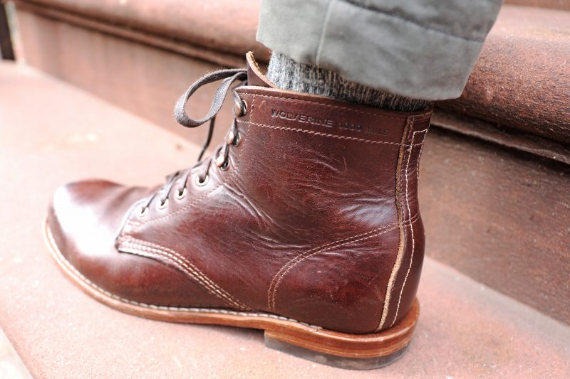 Wolverine 1000 mile loose grain