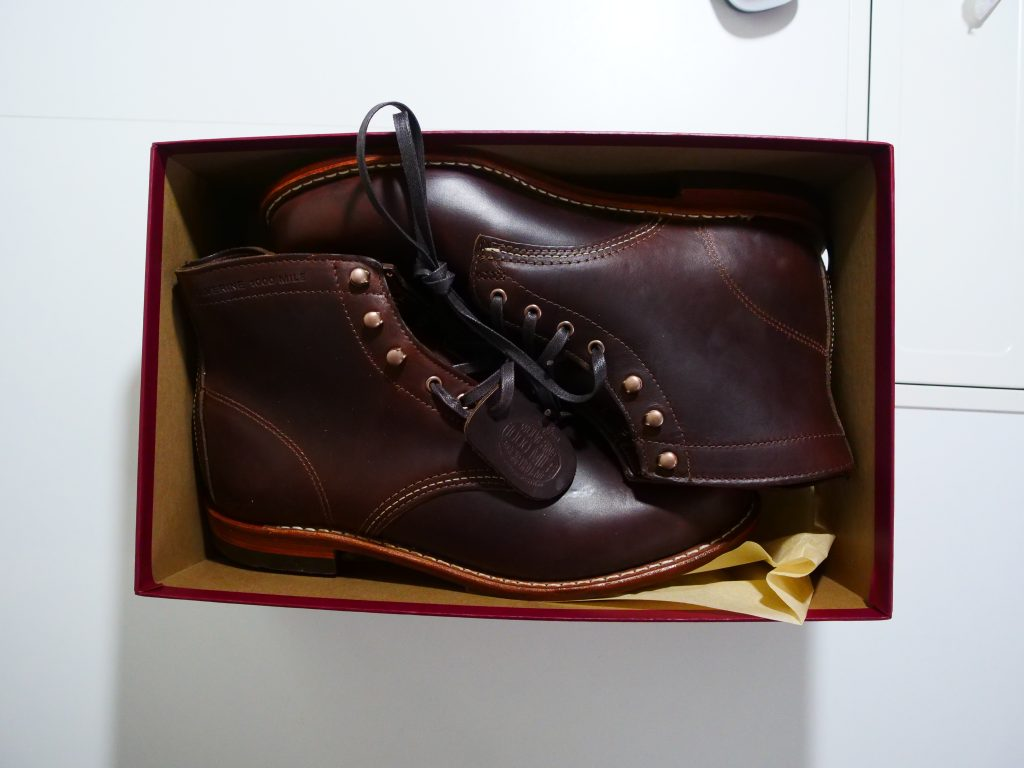 Wolverine 1000 Mile Boot Box