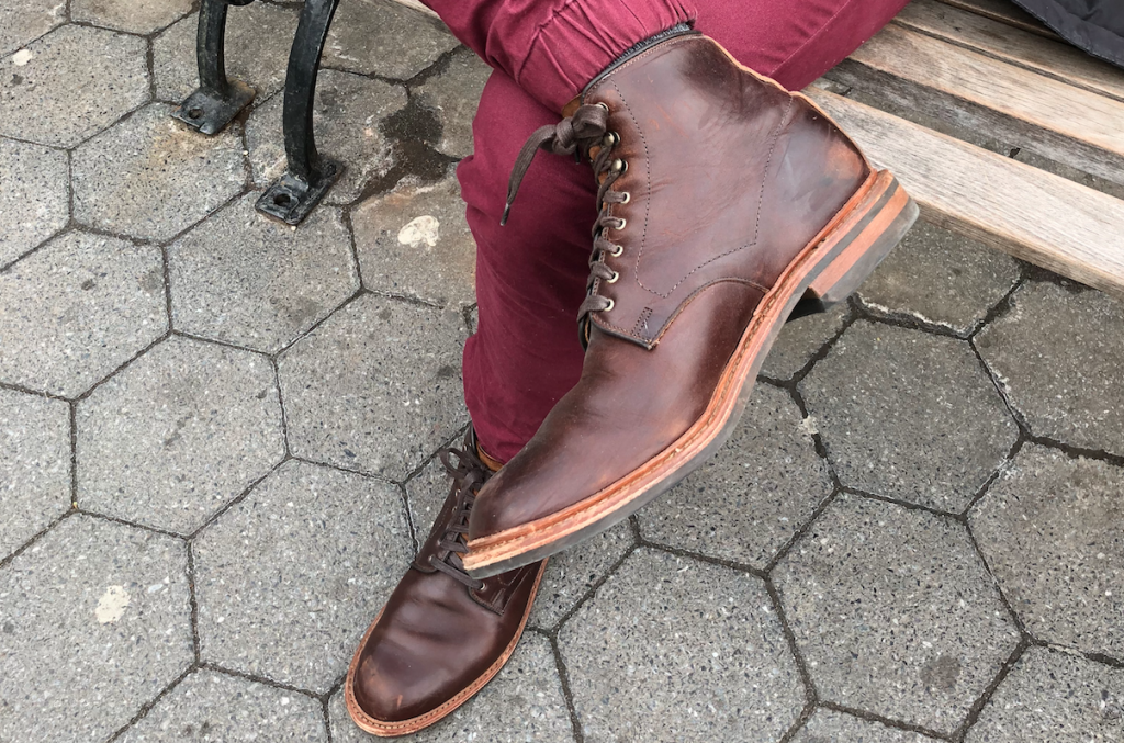 Allen Edmonds Higgins Mill park