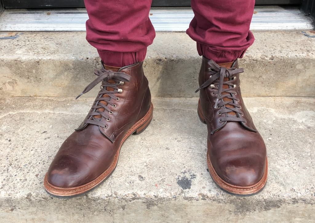 Allen Edmonds Higgins Mill steps