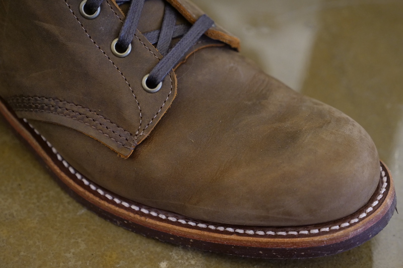 Chippewa Service Boot toe cap