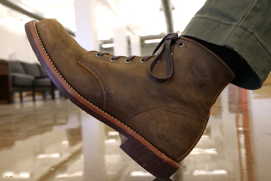 Chippewa Service boot diagonal