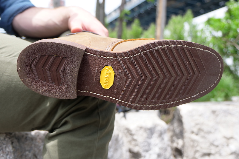 Chippewa Service boot sole