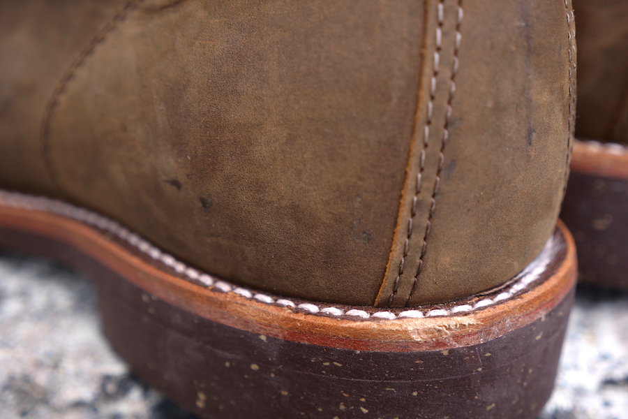 Chippewa service boot rearview