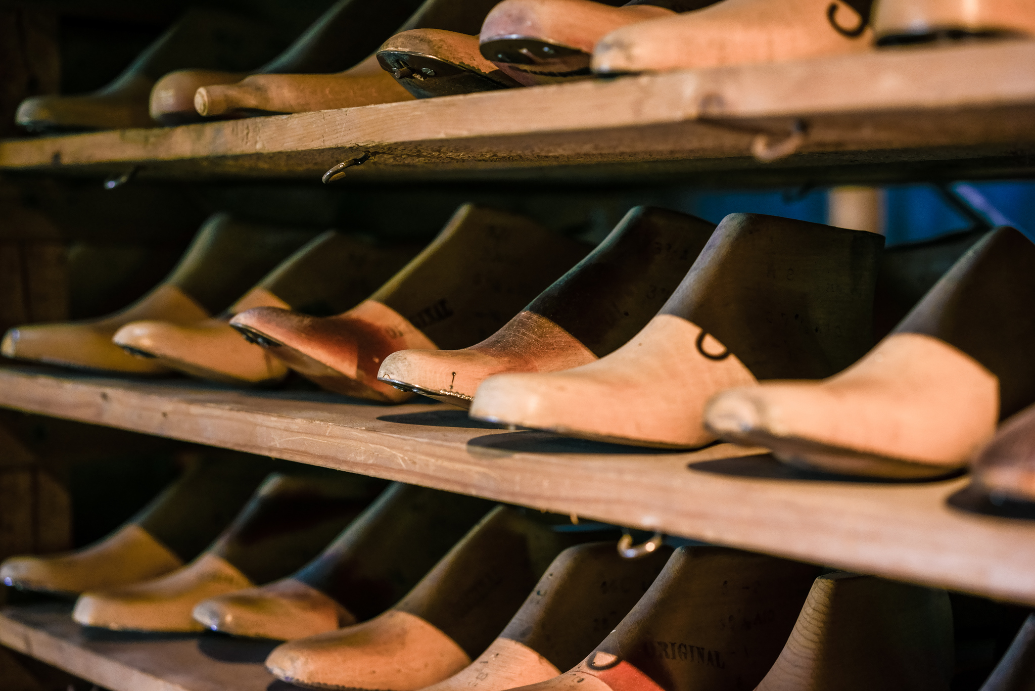shoe last factory in Alfeld on the Leine