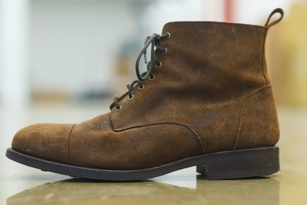 Taft Dragon boot side