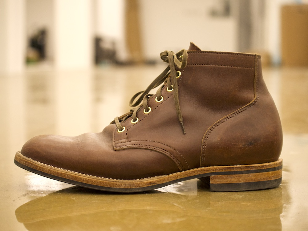 Viberg service boot side view