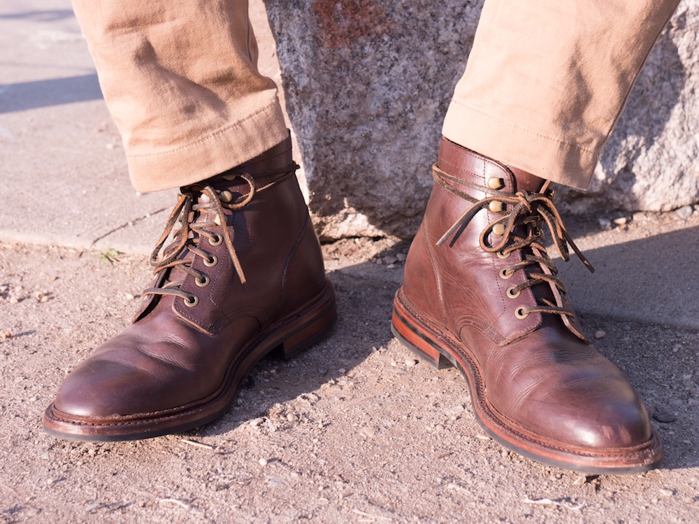 Grant Stone Diesel boot front