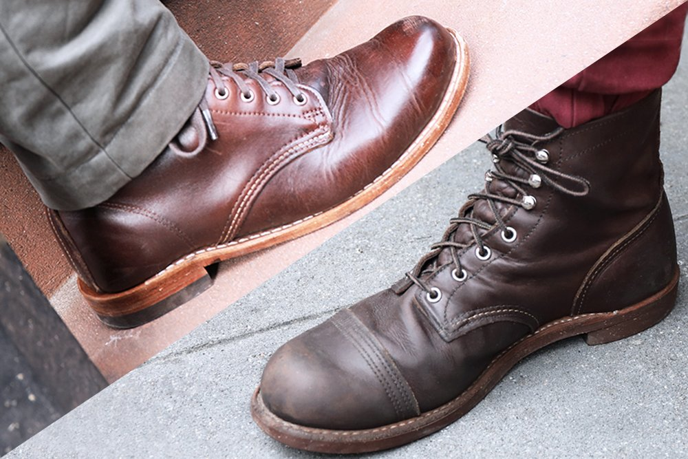 b8af7754ca8 Red Wing Iron Ranger Vs. Wolverine 1000 Mile - Which Is the Best ...