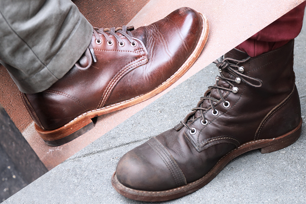best sneakers d5f9c cfefc Red Wing Iron Ranger Vs. Wolverine 1000 Mile - Which Is the ...