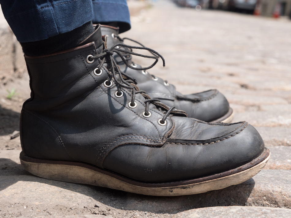 93badb39 Red Wing Moc Toe Review, 3 Years Old - Do The Boots Hold Up? -  stridewise.com