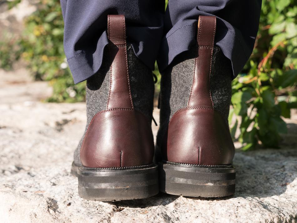 Taft Jack boot rear view