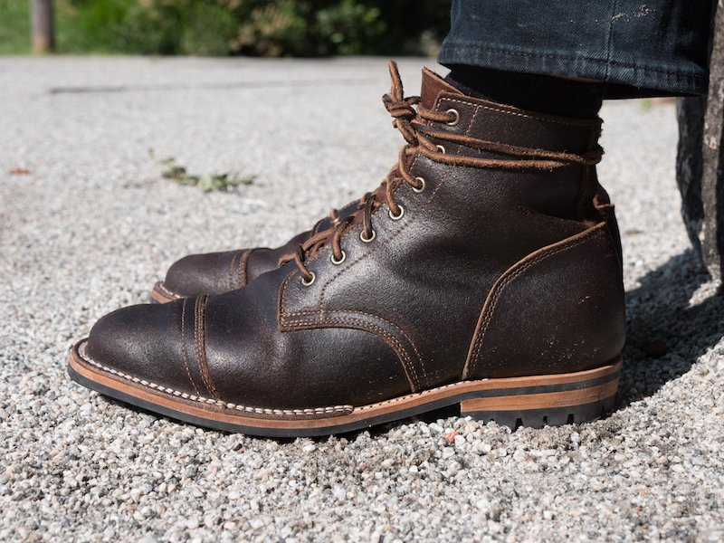 truman boot company side view