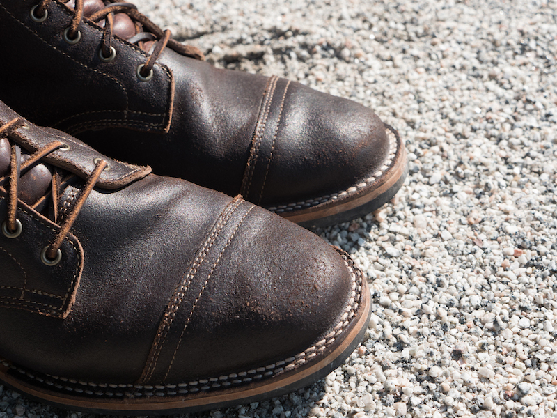 truman java waxed toecap