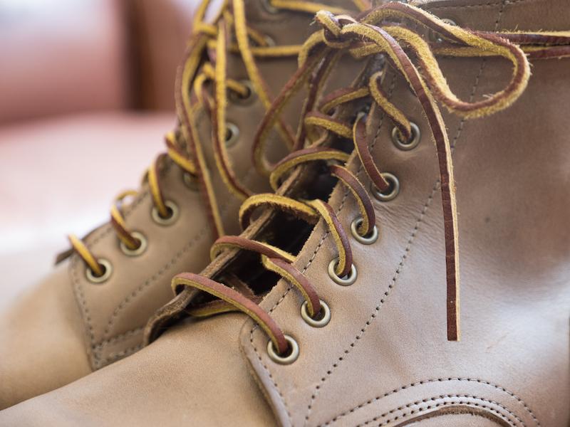 Oak Street boots laces