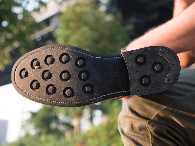 Oak Street boots sole