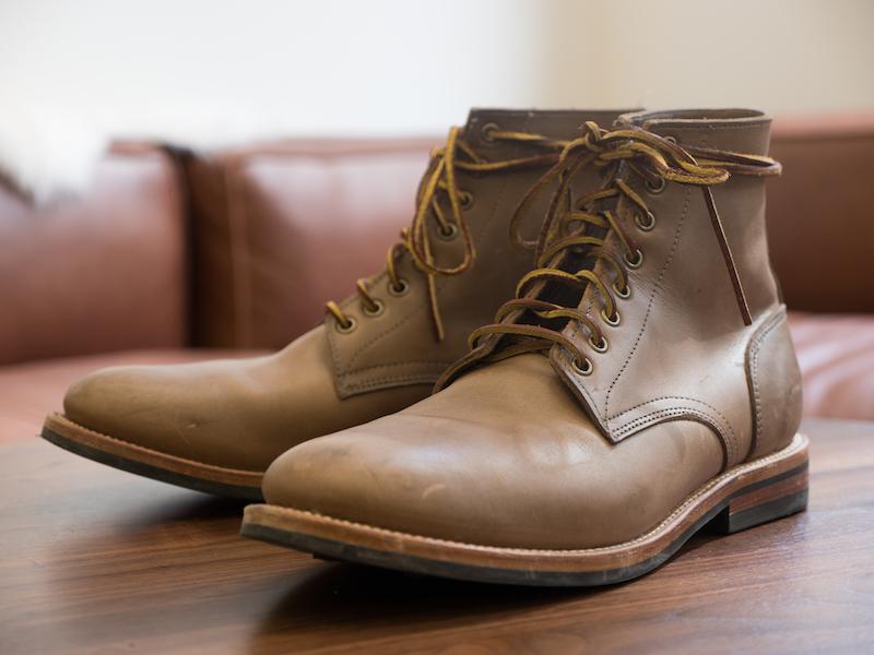 Oak Street boots solo