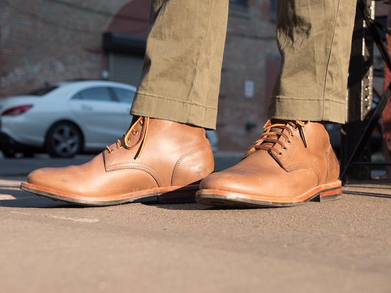 Oak Street boots street
