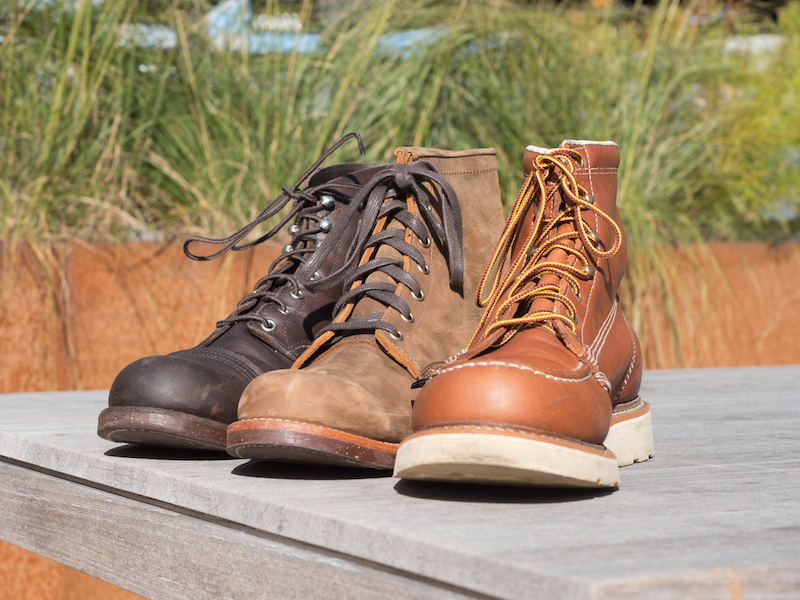 Red Wing Chippewa Thorogood Front
