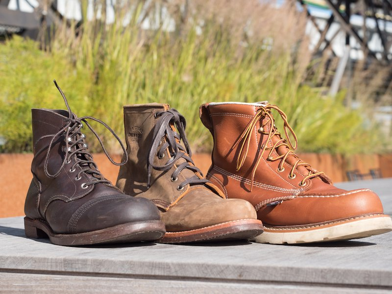 166b40419f6 Thorogood Vs. Red Wing Vs. Chippewa - The Best American Work Boot ...