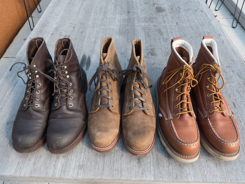 red wing chippewa thorogood
