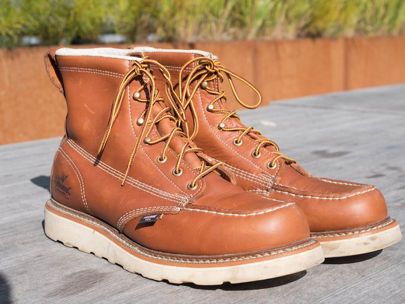 37d358b9762 Thorogood Vs. Red Wing Vs. Chippewa - The Best American Work Boot ...