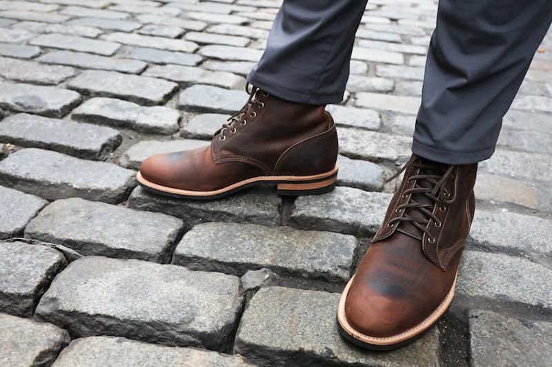 Dayton Service Boot pavement