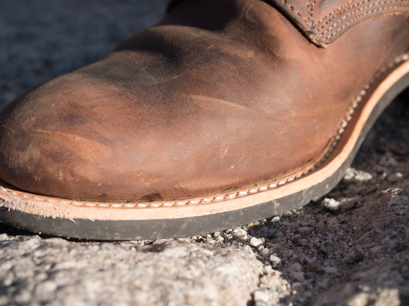 Dayton Service Boot toe