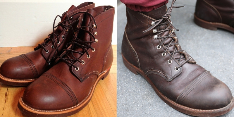red wing new vs old