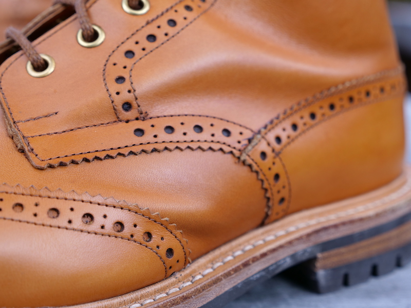 Trickers Stow Boot leather