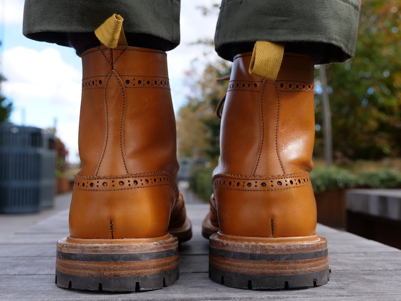 Trickers Stow Boot rear