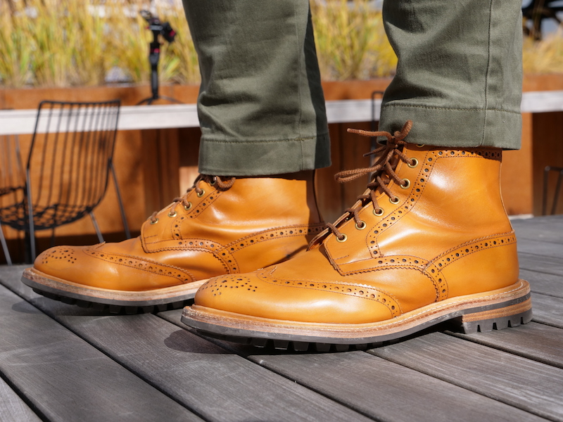 Trickers Stow Boot sun