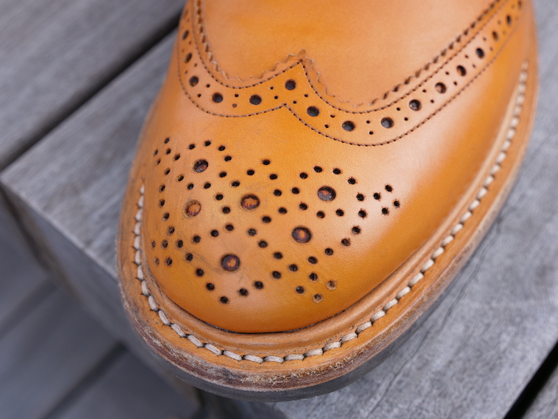 Trickers Stow Boot toe