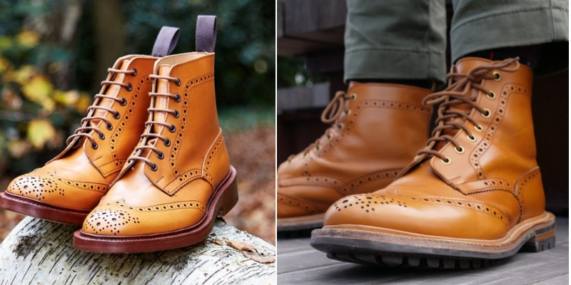 Trickers division road stow boot