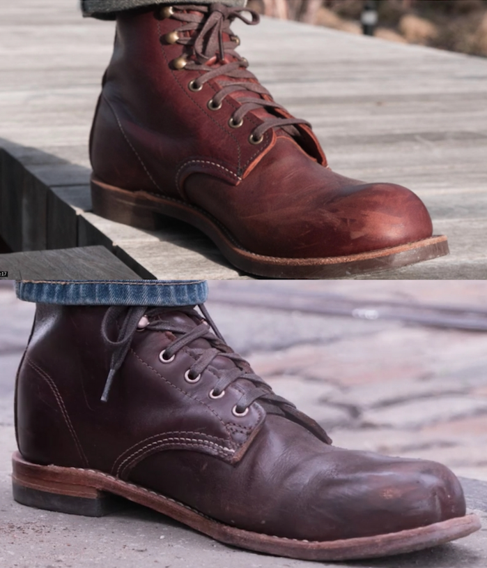 Red Wing Blacksmith vs Wolverine 1000 Mile