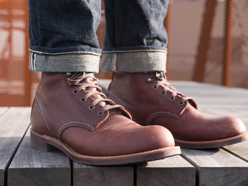 red wing blacksmith shadow