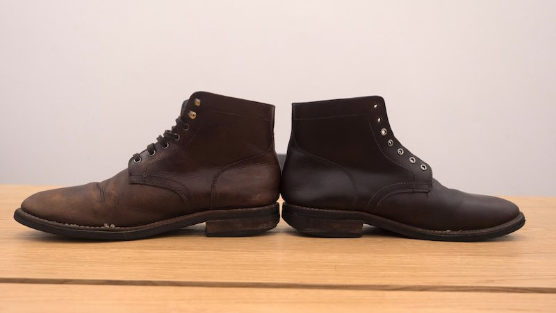 Sof Sole Mink Oil before after