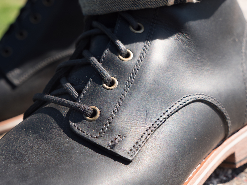 helm zind boot leather