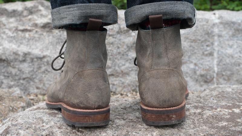 taft dragon boot rear