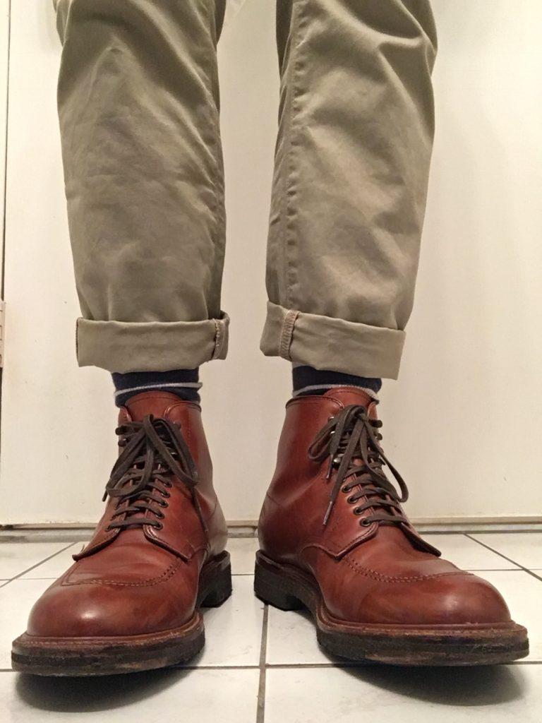 alden x j crew indy boots