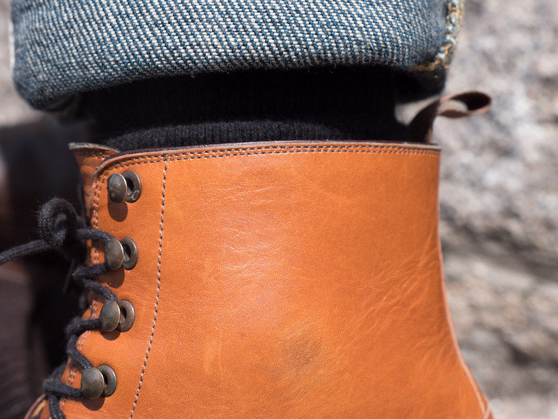 beckett simon dowler cap toe boot shaft
