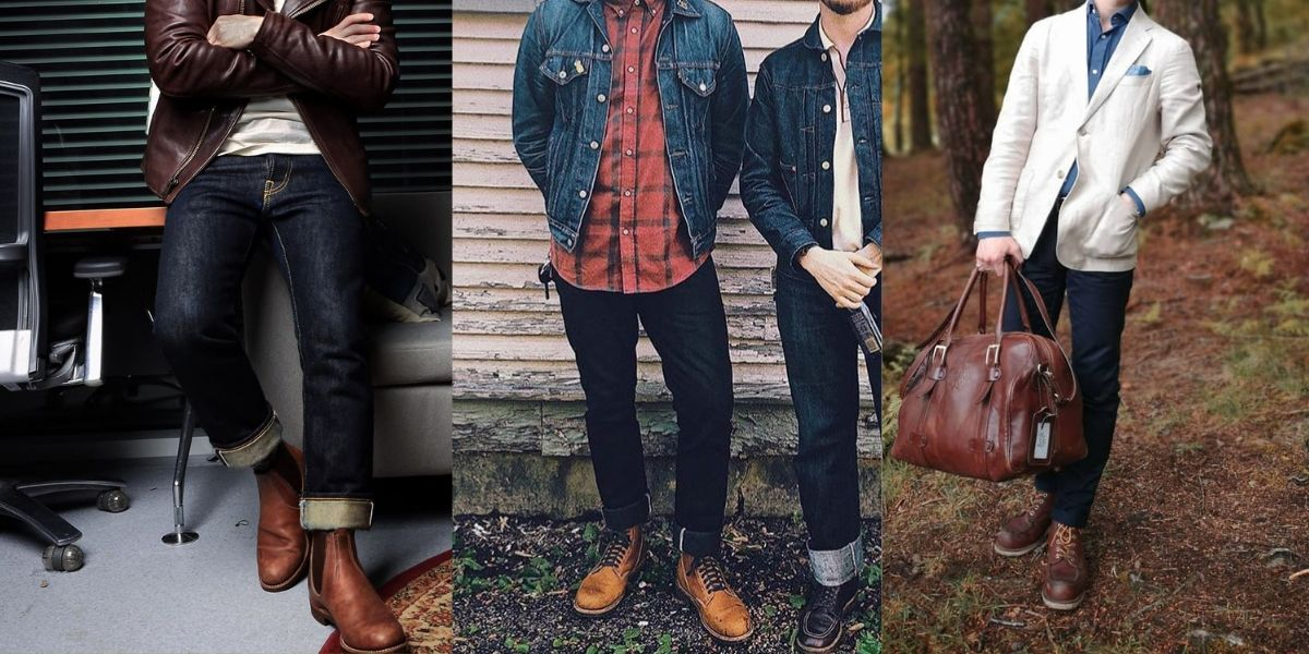 how to style red wings