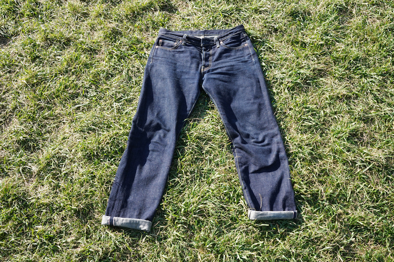 iron heart 633n jeans sunlight