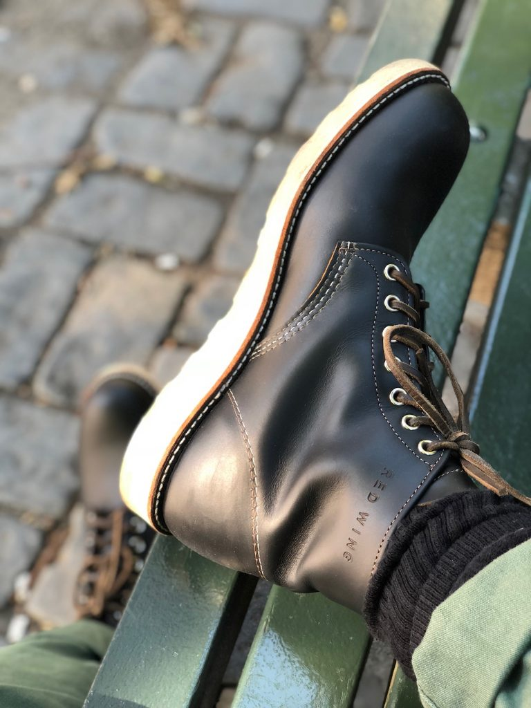 red wing klondike round toes