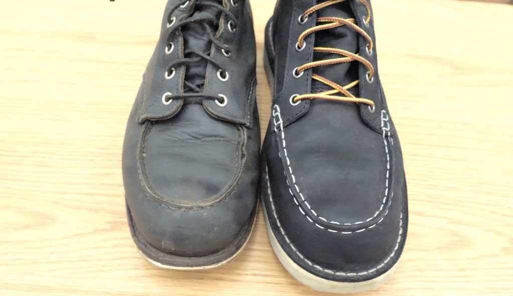 red wing vs danner side by side