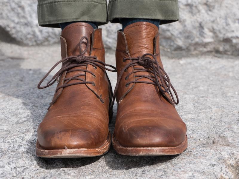 sutro alder boot front view