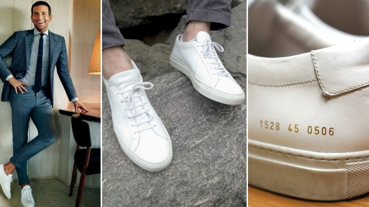 Common Projects the GOAT White Sneaker