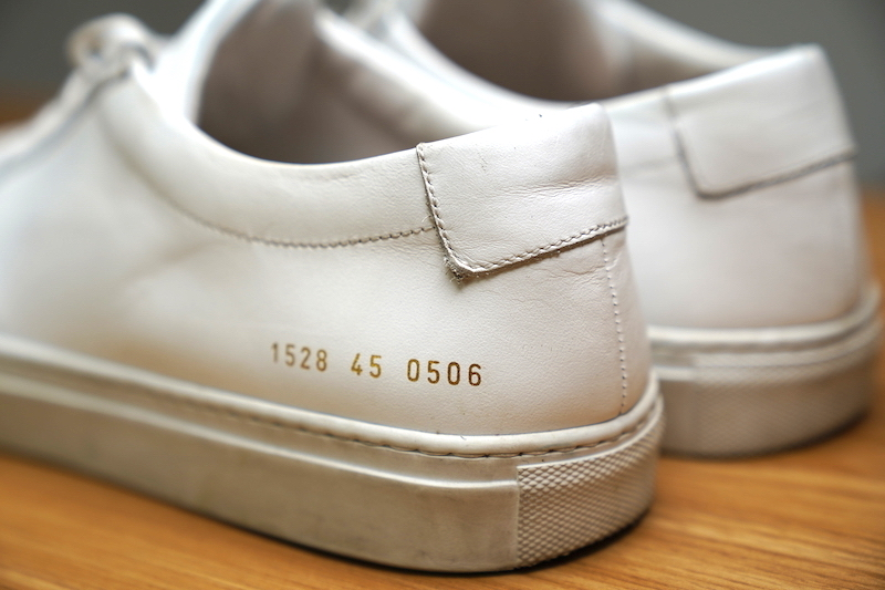 common projects heel tab